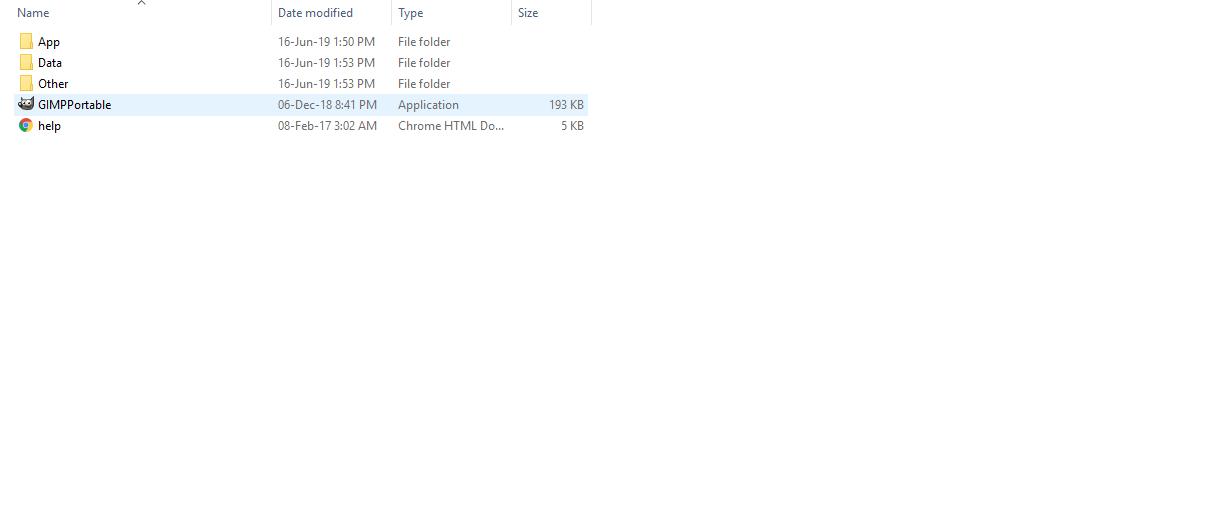 Download GIMP Portable Edition - GIMP Portable