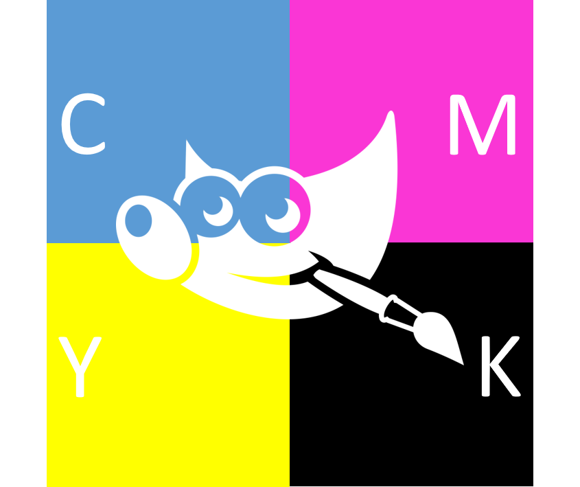 CMYK for GIMP